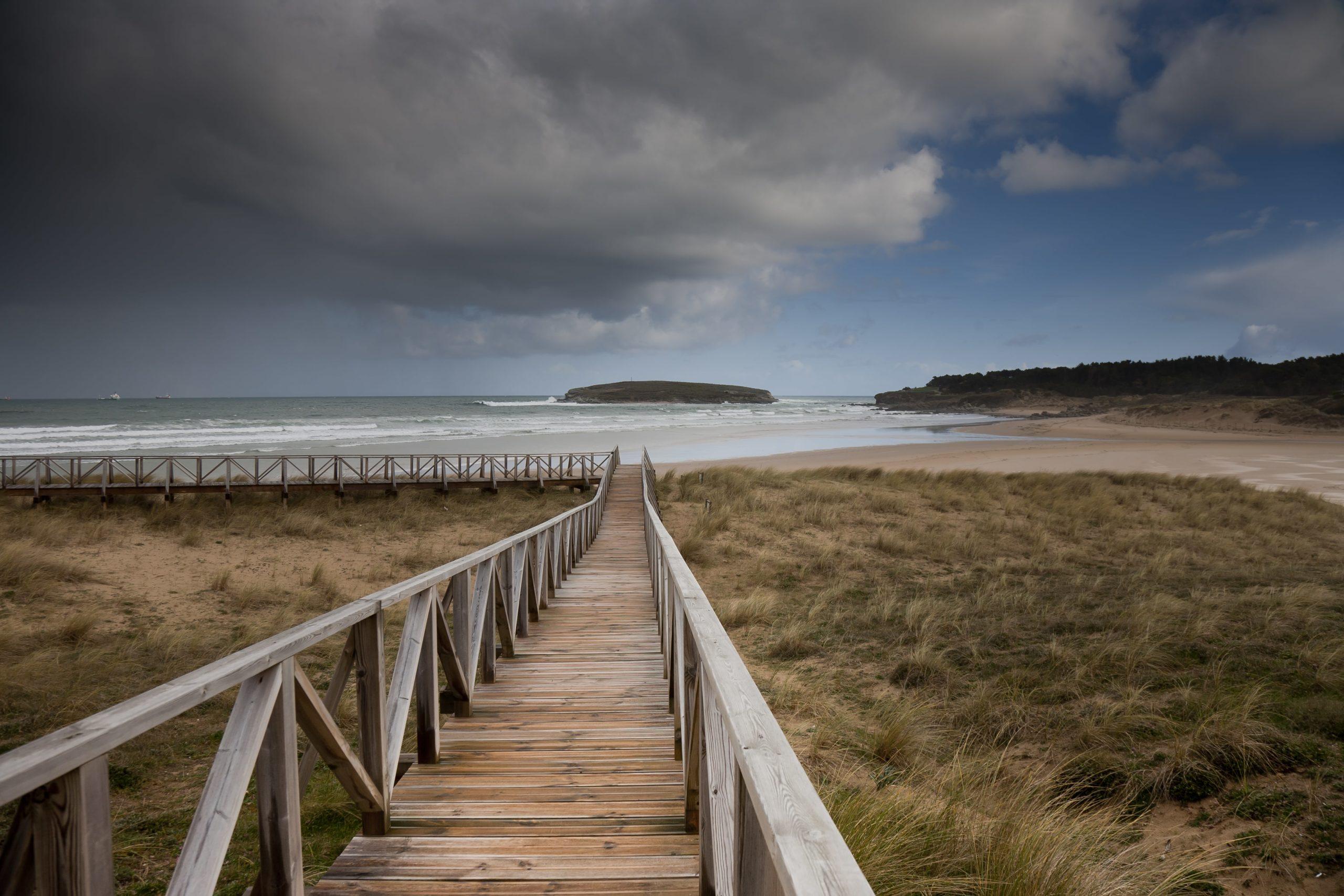 Loredo Cantabria Surf Town in Spain