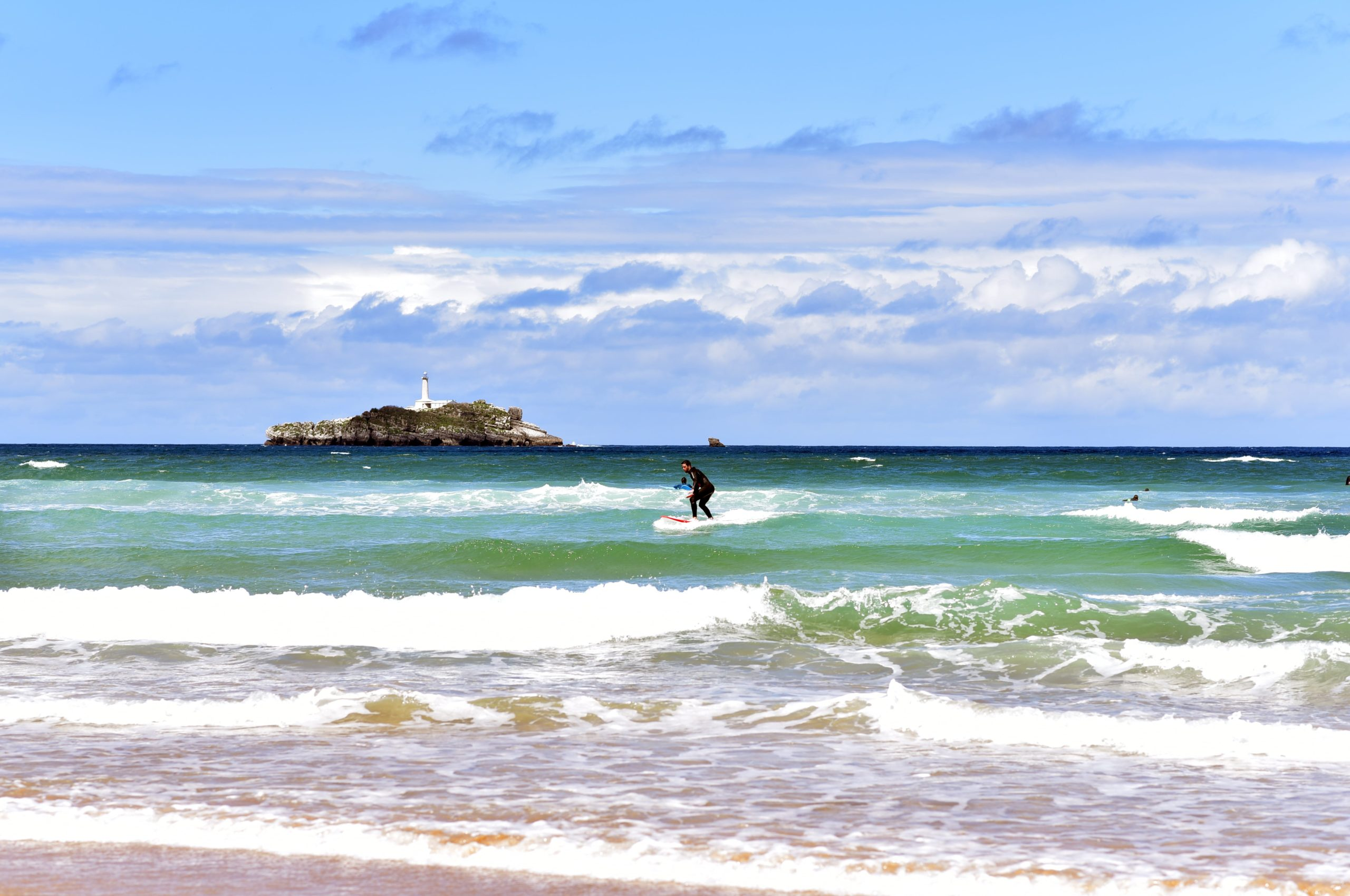 Playa De Somo Surf Town Spain