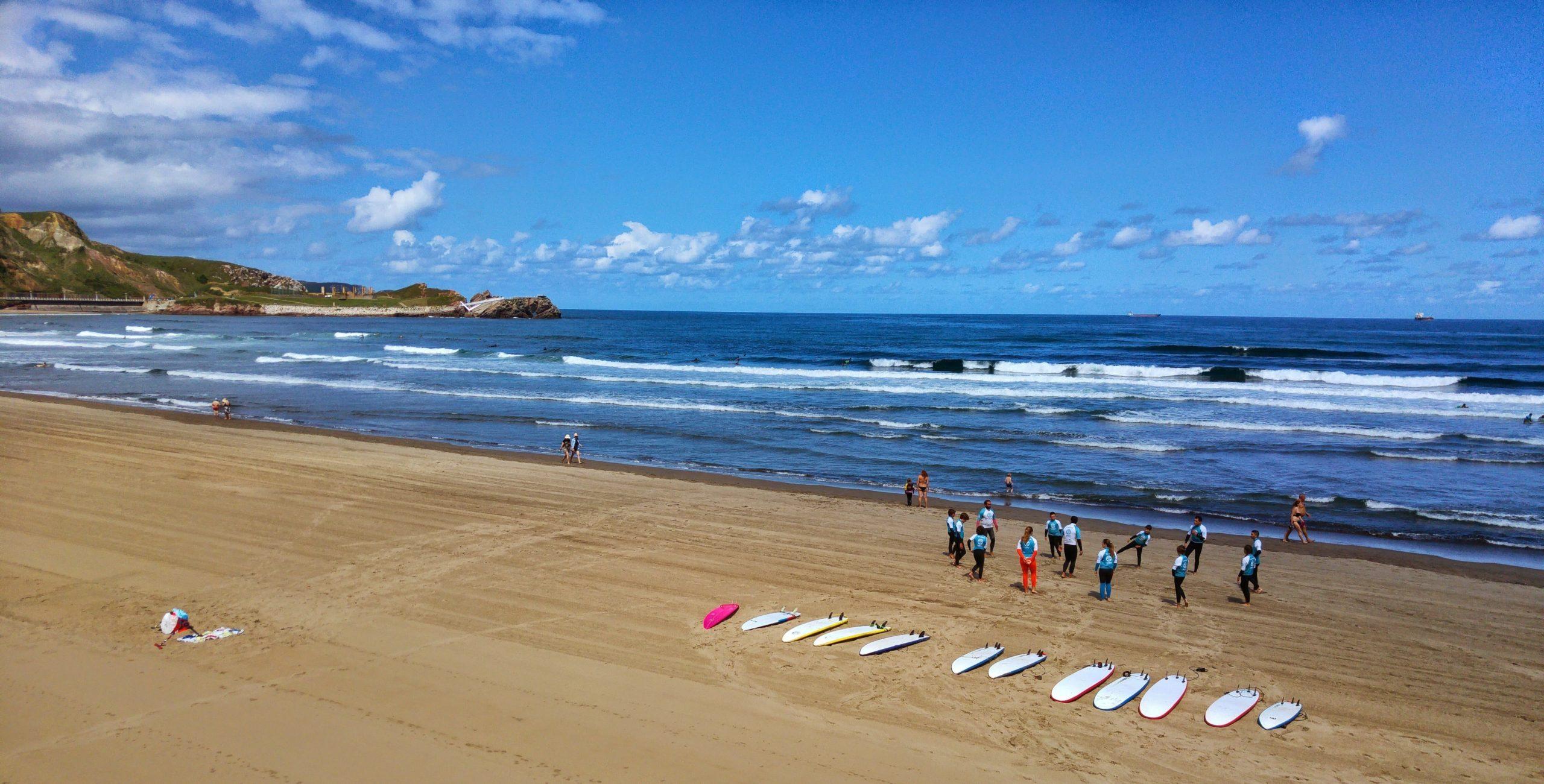 Salinas Surf Town Spain
