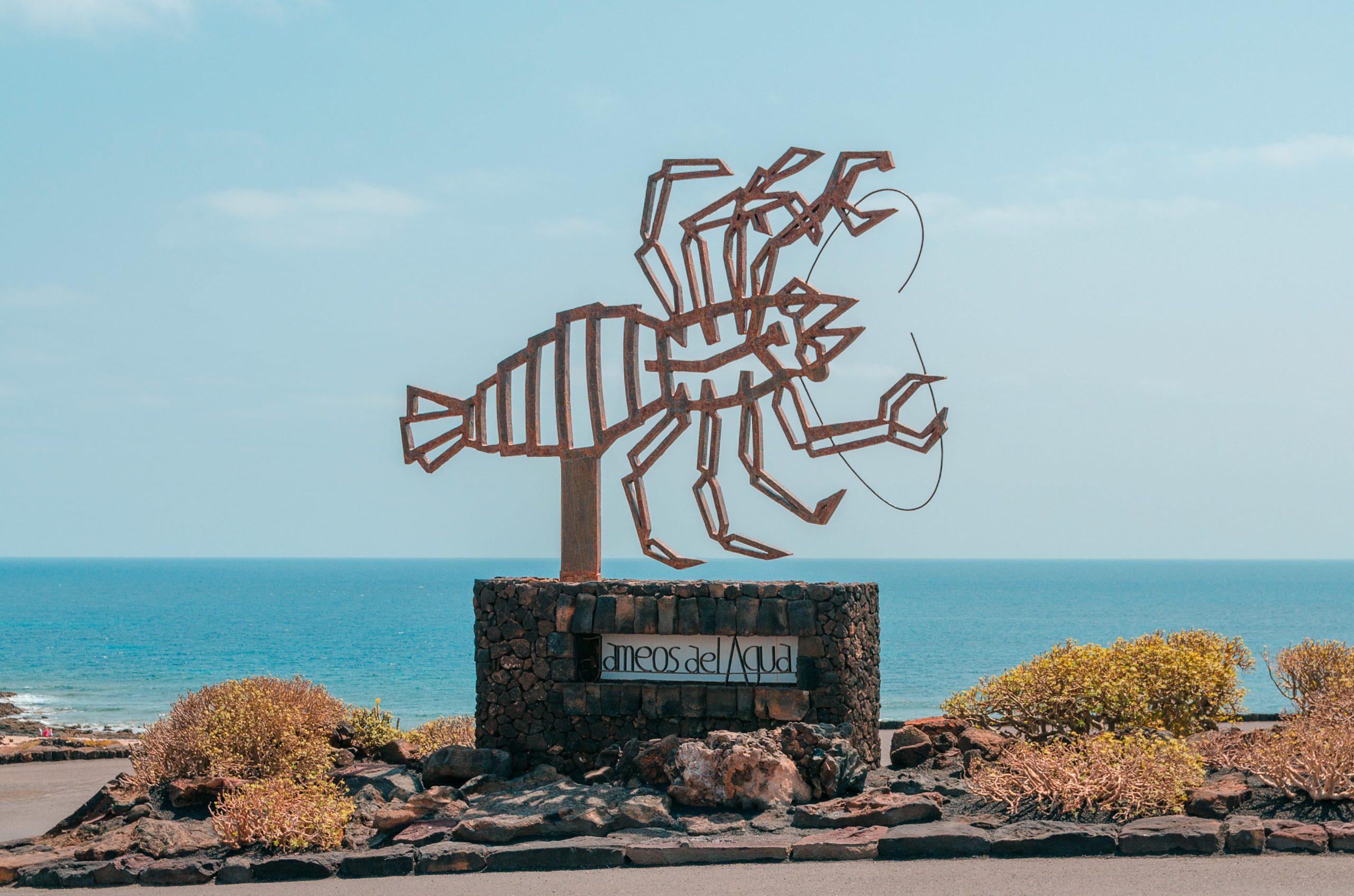 Surfing Lanzarote - Jameos del Agua