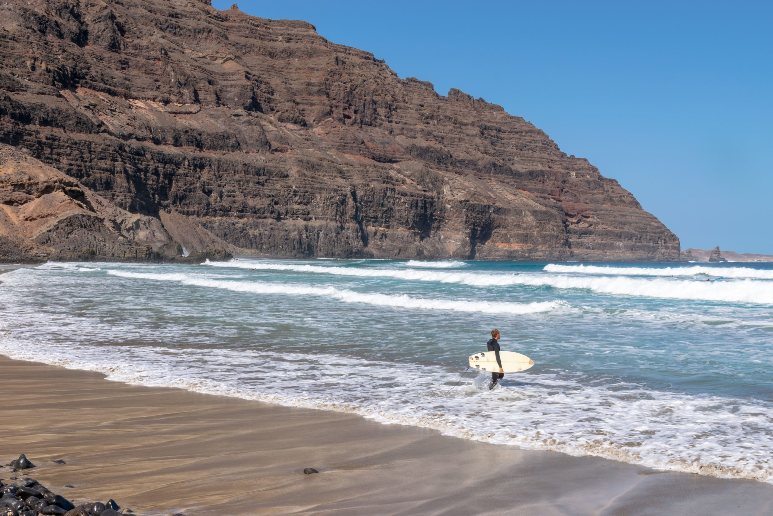 Surfing Lanzarote - Orzola