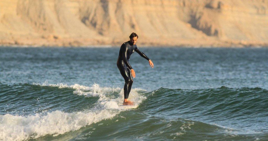 Surfing The Bay in Imsouane