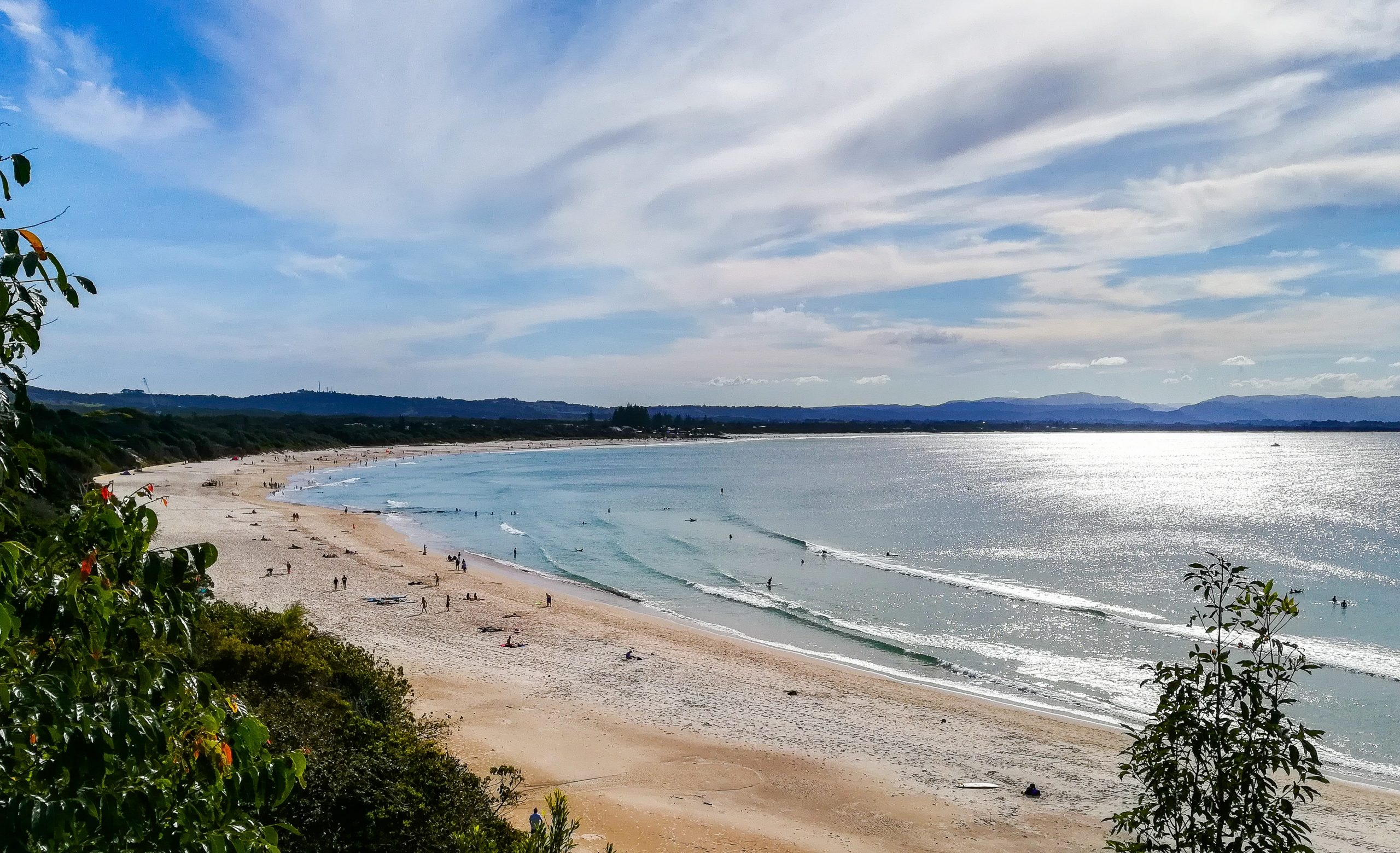 Main Beach surf spot in Byron Bay