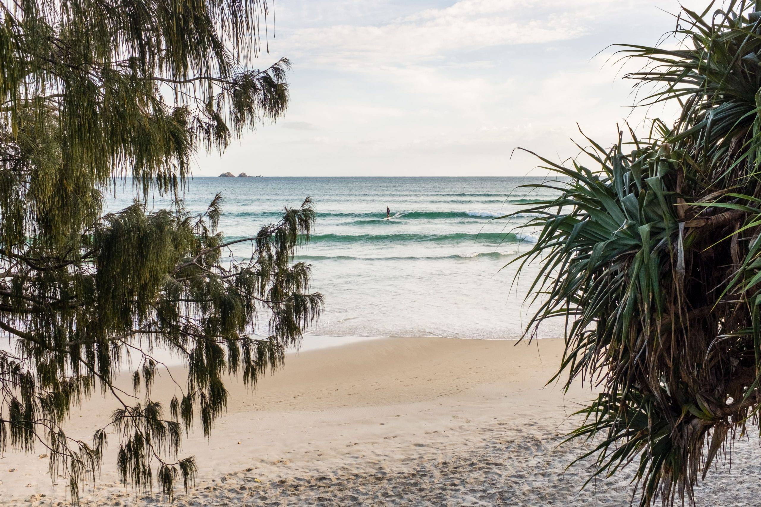 Watego's surf spot in Byron Bay