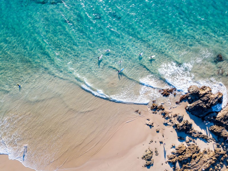 Surfing Byron Bay in Australia
