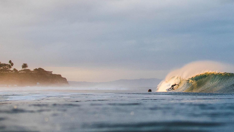 Surfing Encinitas - Ponto