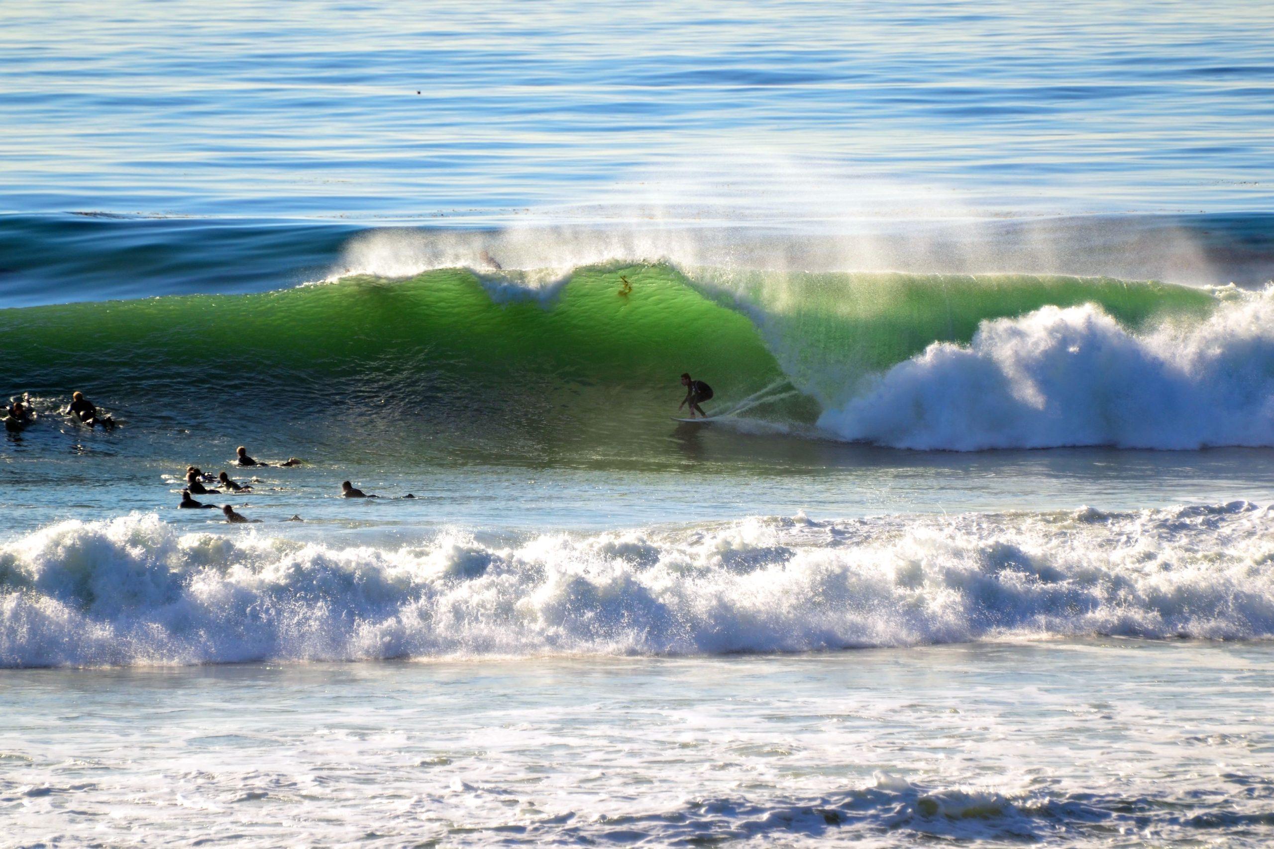 Surfing Encinitas - Swamis
