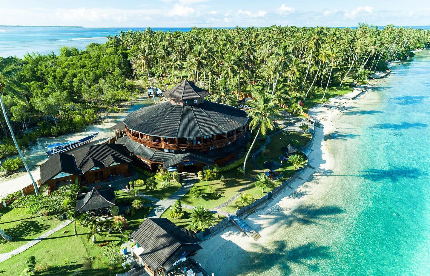 surf resort in the mentawai islands
