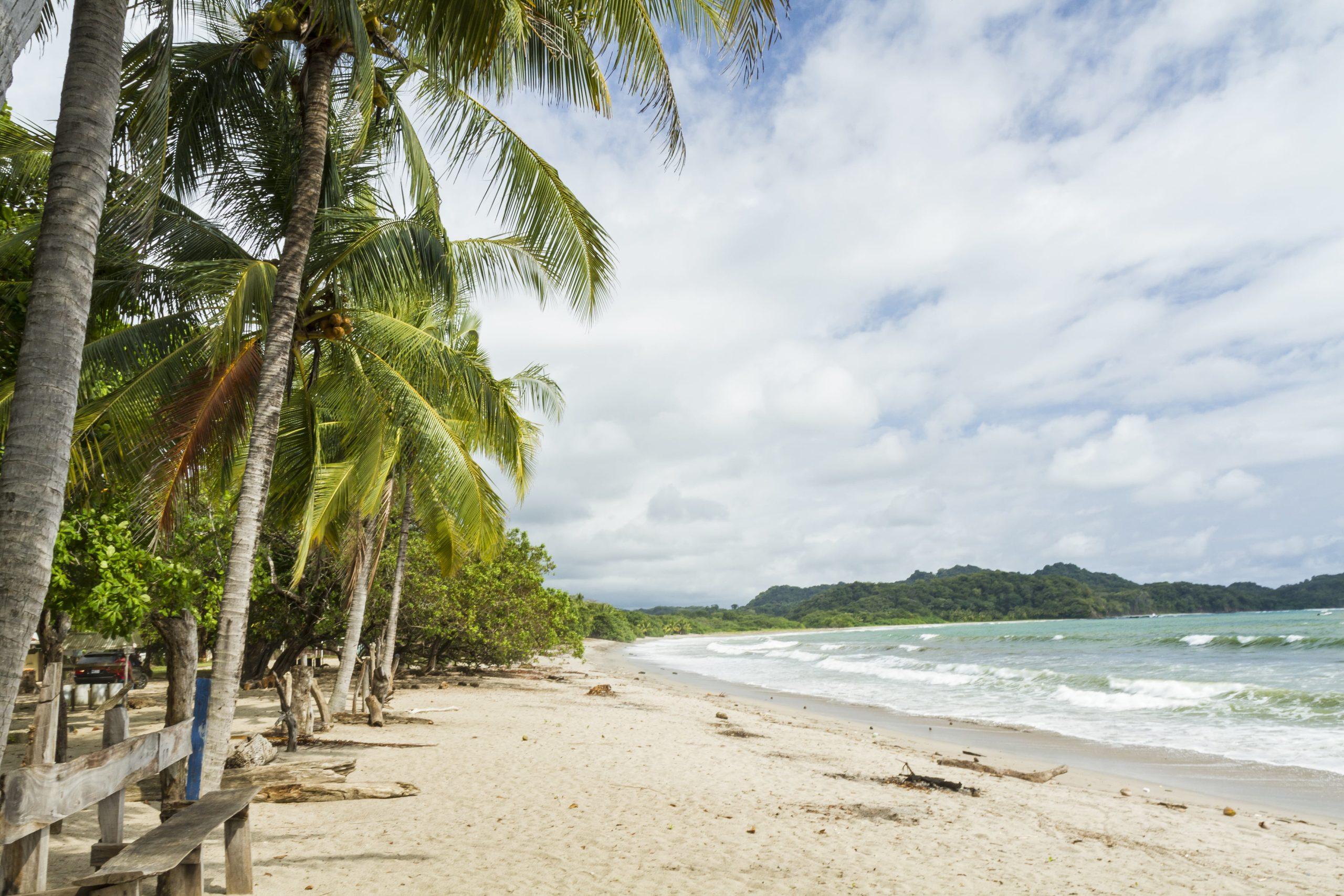 Playa Garza surf spot in Nosara Costa Rica