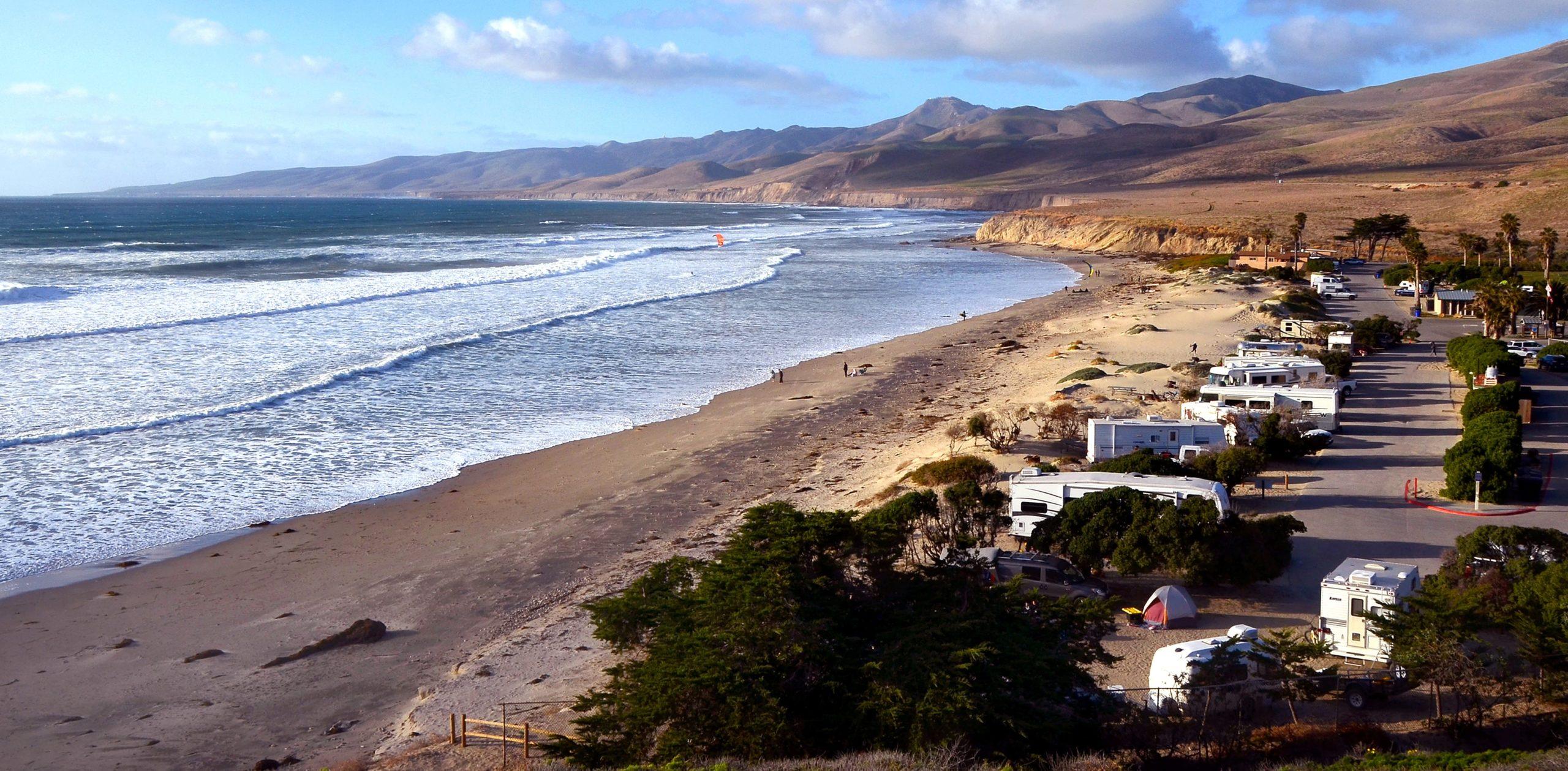 Surfing Santa Barbara - Jalama Beach