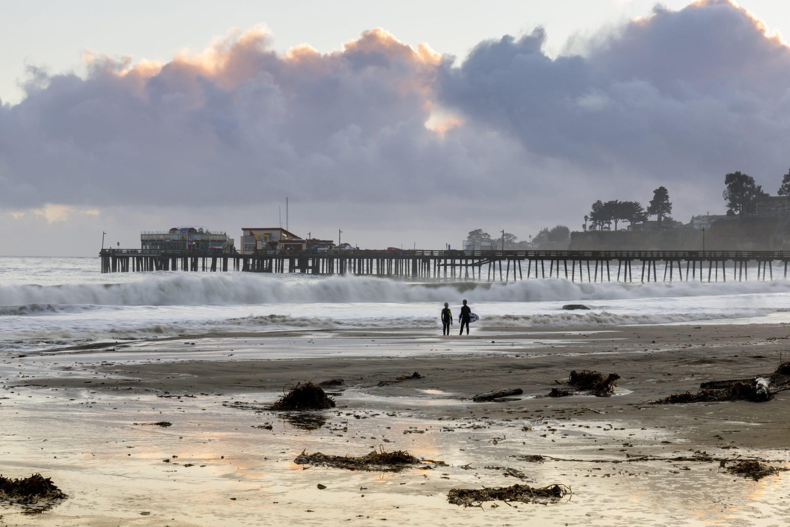 Surfing Santa Cruz - Cowells Beach