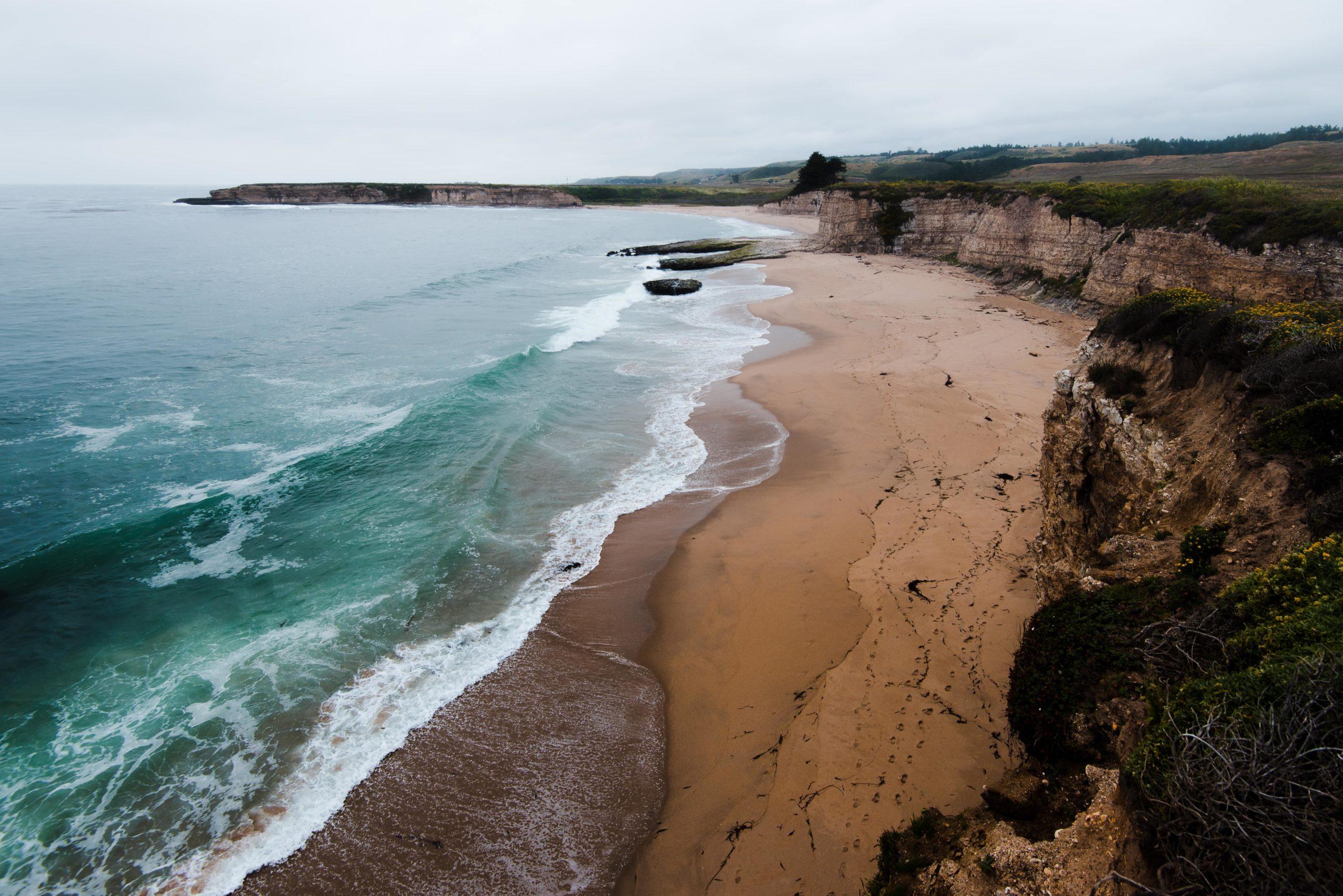Surfing Santa Cruz - Four Mile