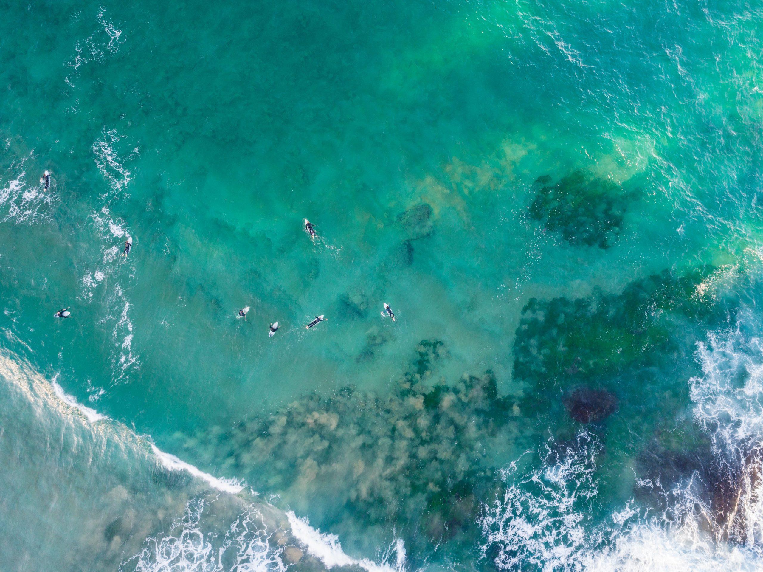 Bilgola Beach surf spot in Sydney