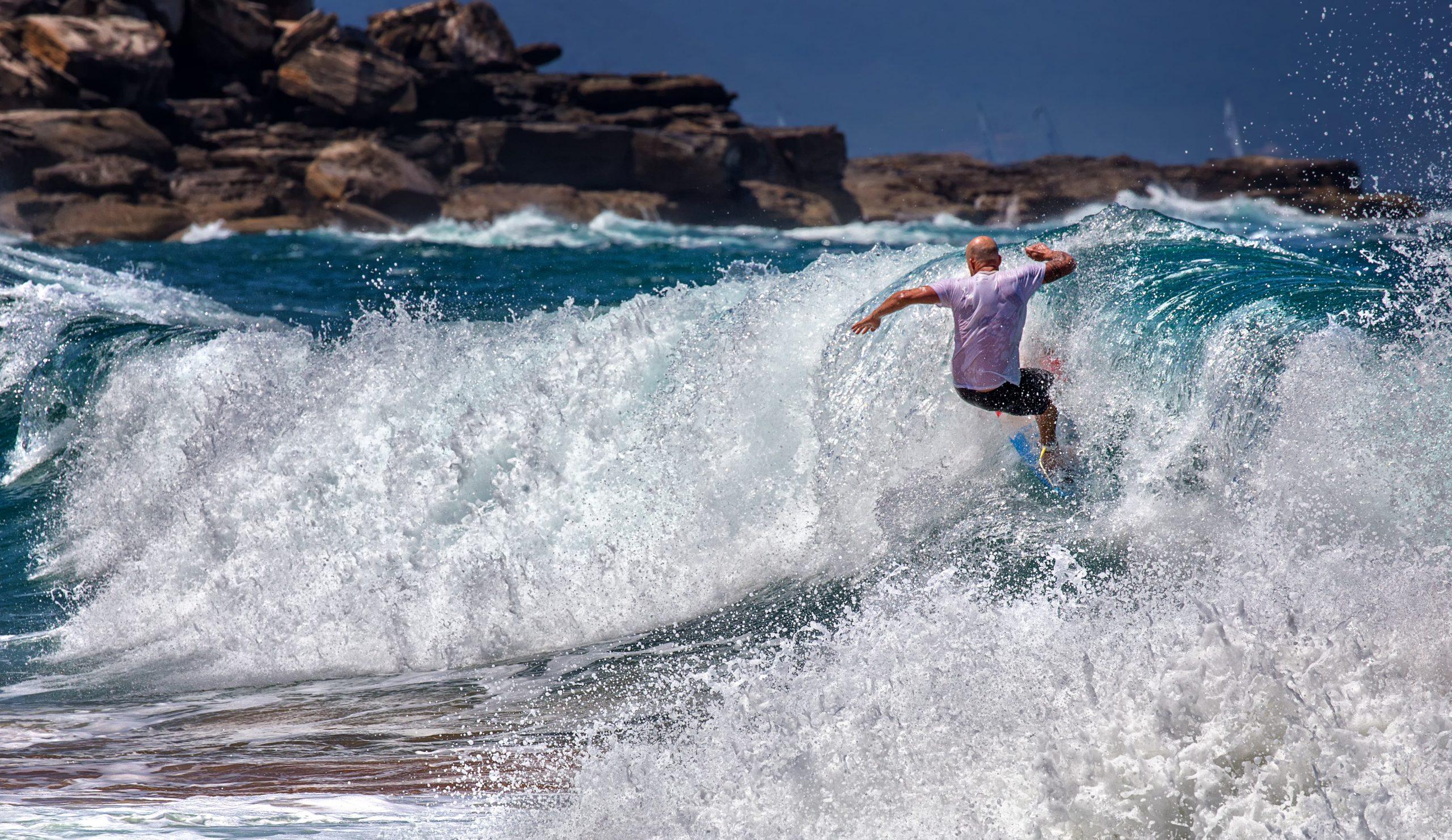 surf spot in Sydney