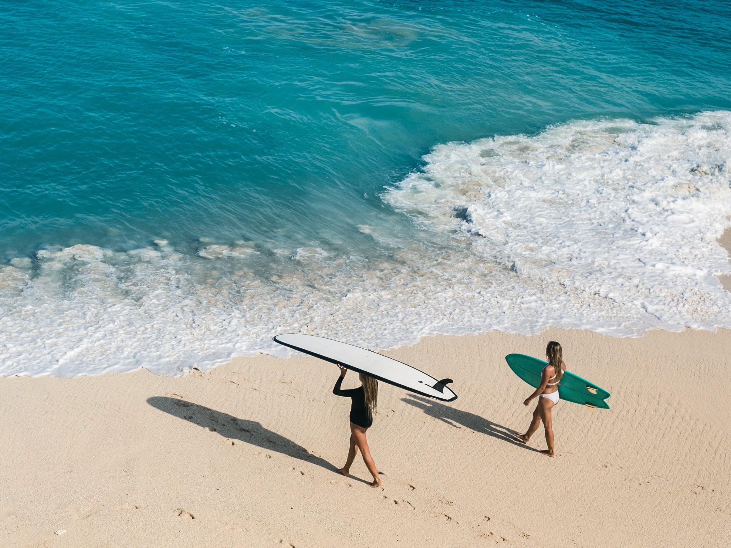 surfing Santa Teresa