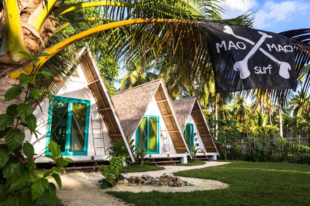 surf camps in Siargao
